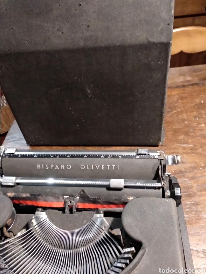 Antigüedades: Maquina de escribir hispano olivetti studio 46 - Foto 3 - 191541423