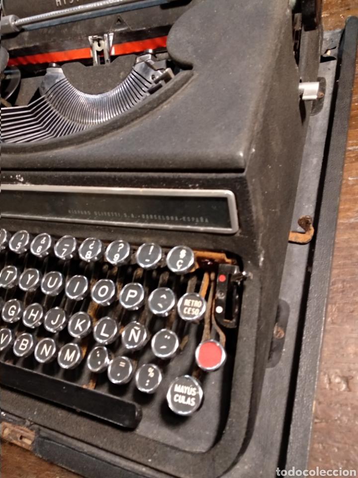 Antigüedades: Maquina de escribir hispano olivetti studio 46 - Foto 4 - 191541423