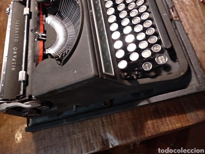 Antigüedades: Maquina de escribir hispano olivetti studio 46 - Foto 5 - 191541423