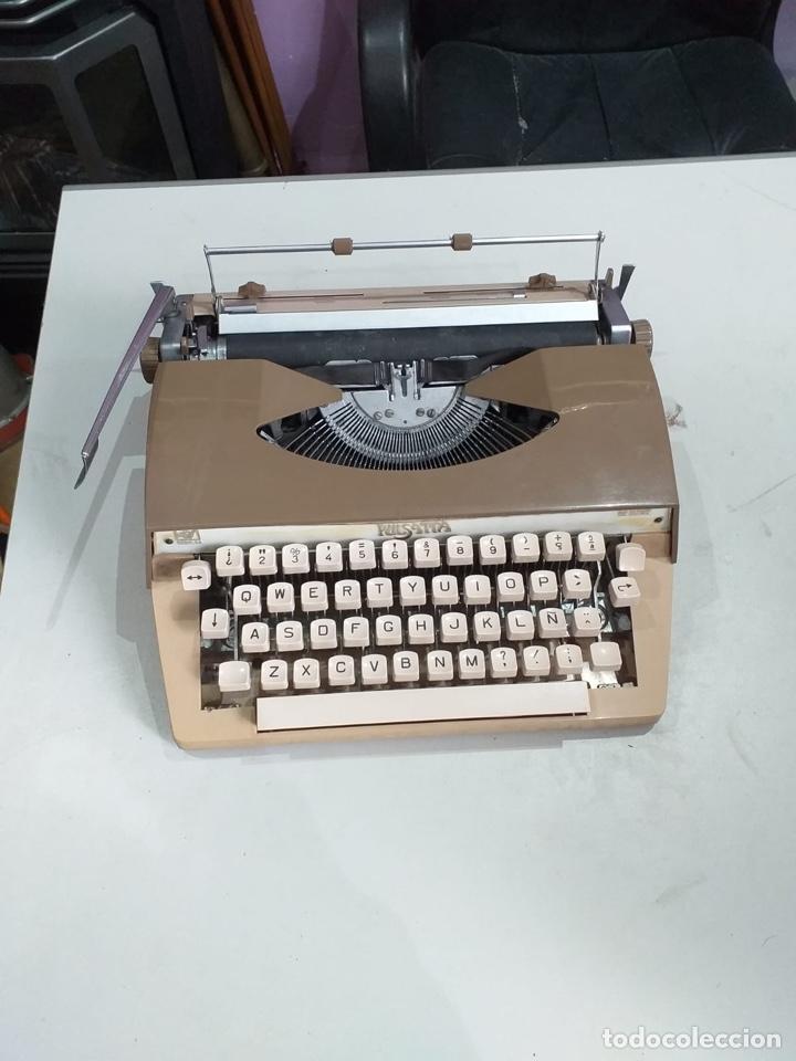ANTIGUA MAQUINA DE ESCRIBIR PORTATIL - SEDIC PULSATTA DE LUXE - - AÑOS 70 (Antigüedades - Técnicas - Máquinas de Escribir Antiguas - Otras)