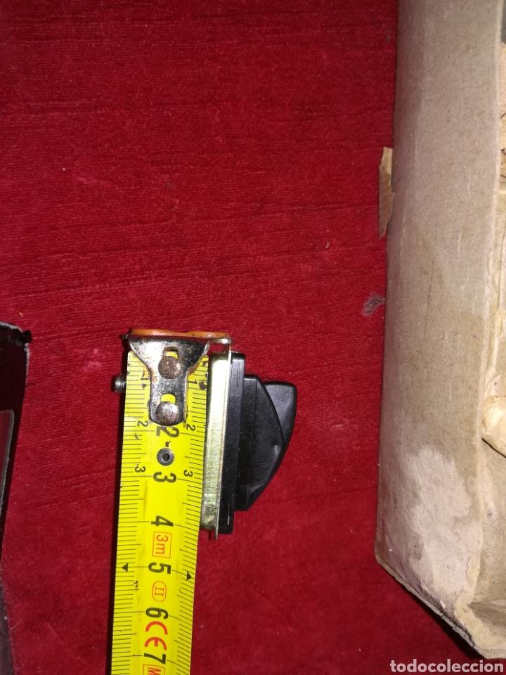 Antigüedades: Lote de 11 interruptores antiguos de baquelita a estrenar - Foto 6 - 191607711
