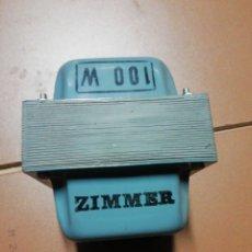 Antigüedades: TRANSFORMADOR 220 V A 125V. Lote 191621491