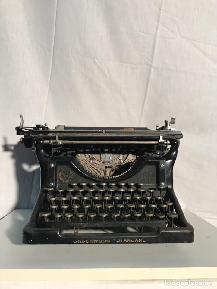 Antigüedades: Maquina de escribir Underwood - Foto 2 - 191625863