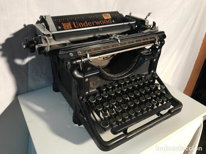 Antigüedades: Maquina de escribir Underwood - Foto 3 - 191625863
