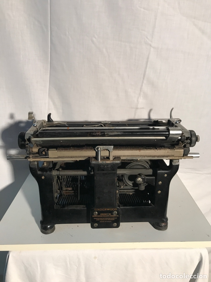 Antigüedades: Maquina de escribir Underwood - Foto 5 - 191625863