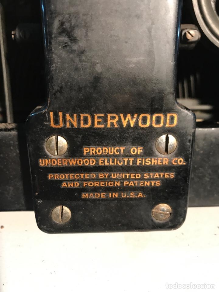 Antigüedades: Maquina de escribir Underwood - Foto 6 - 191625863