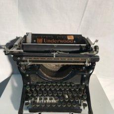 Antigüedades: MAQUINA DE ESCRIBIR UNDERWOOD. Lote 191625863