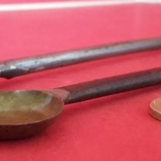 Antiquités: ANTIGUA MEDIDA , MEDIDOR DE AZAFRAN - NOVELDA ( ALICANTE ). Lote 191646862