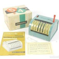 Antigüedades: CALCULADORA SUMADORA ADDIPRESTO AÑO 1950. ADDING MACHINE RECHENMASCHINE. Lote 191655392