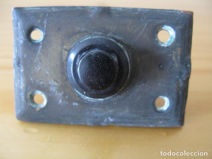 TIMBRE PULSADOR (Antigüedades - Técnicas - Herramientas Profesionales - Electricidad)