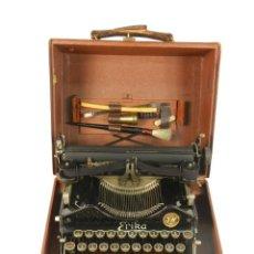 Antigüedades: MAQUINA DE ESCRIBIR ERIKA Nº3 AÑO 1917 PLEGABLE TYPEWRITER SCHREIBMASCHINE. Lote 191694555