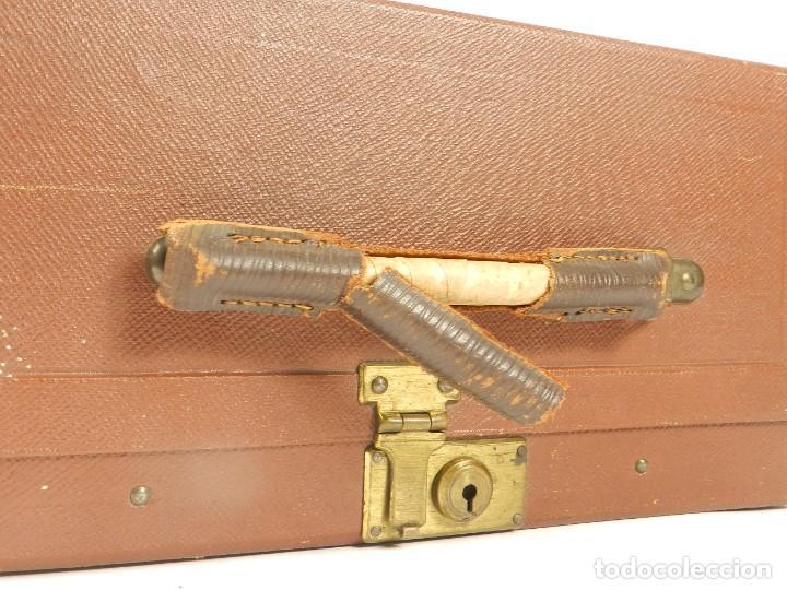 Antigüedades: MAQUINA DE ESCRIBIR ERIKA Nº3 AÑO 1917 PLEGABLE TYPEWRITER SCHREIBMASCHINE - Foto 3 - 191694555