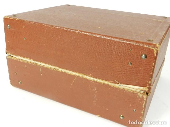 Antigüedades: MAQUINA DE ESCRIBIR ERIKA Nº3 AÑO 1917 PLEGABLE TYPEWRITER SCHREIBMASCHINE - Foto 4 - 191694555