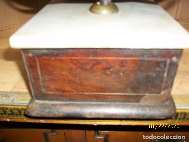 Antigüedades: ANTIGUA BALANZA FRANCESA-TAPA DE MARMOL - Foto 7 - 191752970