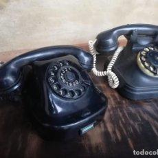 Teléfonos: TELÉFONO BAQUELITA AÑOS 50 SOLO QUEDA UNO. Lote 186048038