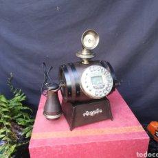 Teléfonos: TELÉFONO GAMA ALTA IMITACIÓN ANTIGUO EN FORMA DE BARRIL. Lote 191769395