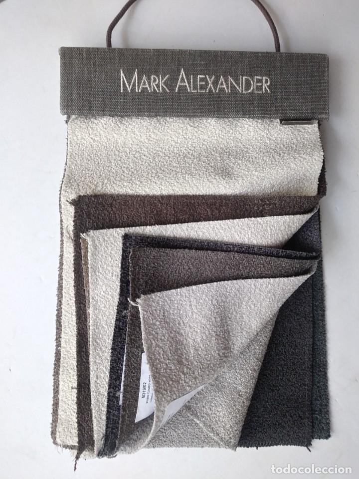 Antigüedades: muestrario telas MARK ALEXANDER - Foto 4 - 191799270