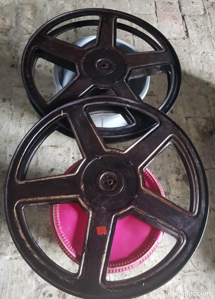 Antigüedades: Lote de 2 proyectores de cine Vanguard. Recogida local. - Foto 7 - 190073418