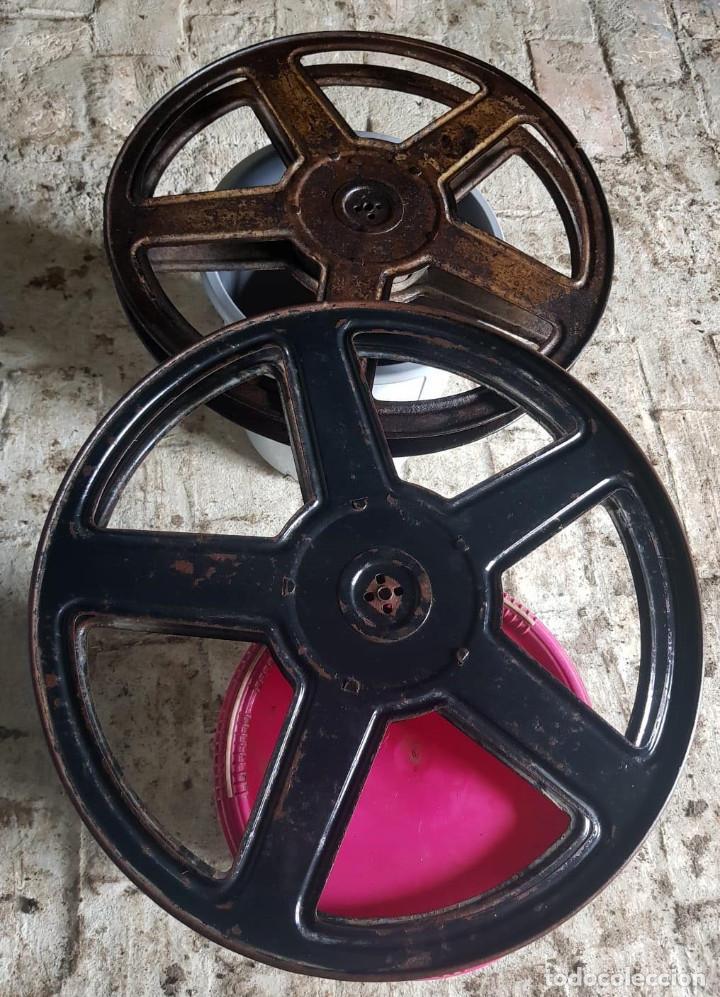 Antigüedades: Lote de 2 proyectores de cine Vanguard. Recogida local. - Foto 19 - 190073418