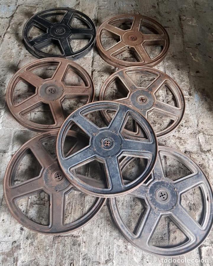 Antigüedades: Lote de 2 proyectores de cine Vanguard. Recogida local. - Foto 5 - 190073418