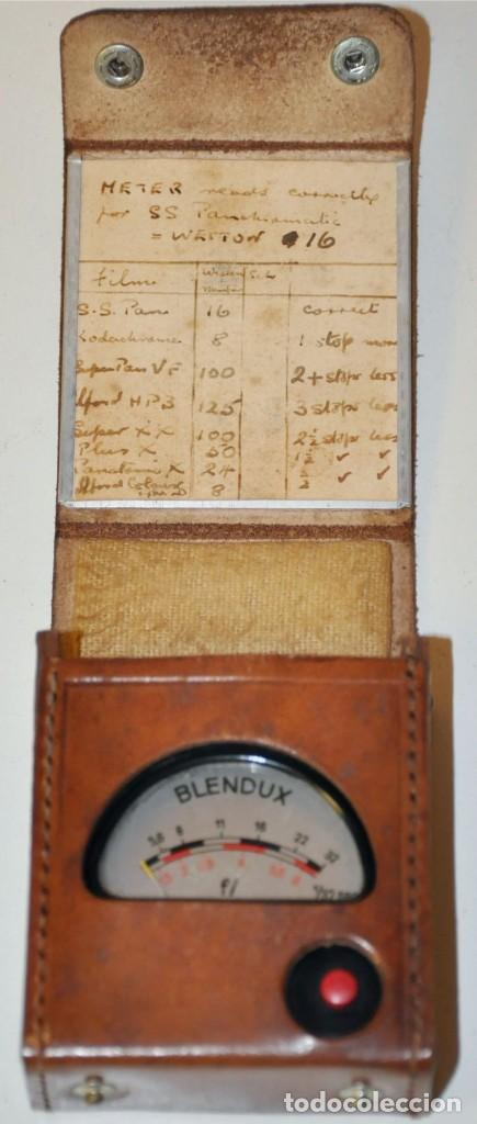 Antigüedades: MEDIDOR DE LUZ PARA CINE BLENDUX MARCA GOSSEN - Foto 2 - 191819067