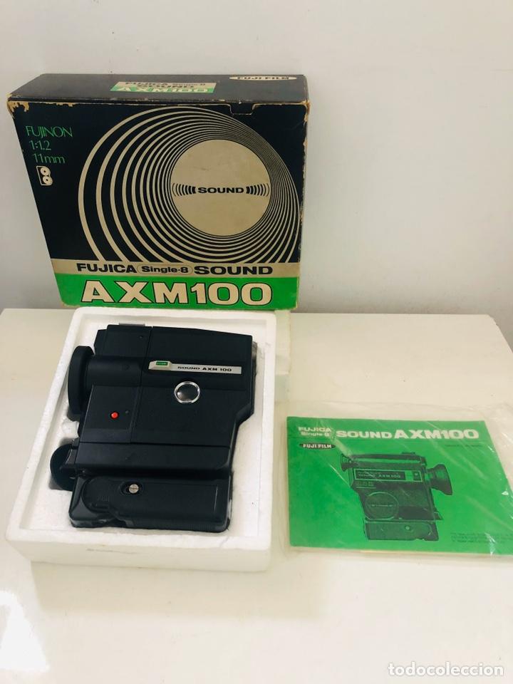 FUJICA AXM 100 (Antigüedades - Técnicas - Aparatos de Cine Antiguo - Cámaras de Super 8 mm Antiguas)