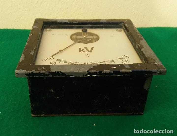 Antigüedades: ANTIGUO VOLTIMETRO, MUY RARO Y ESCASO - Foto 4 - 191906022
