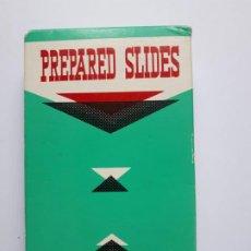 Antigüedades: MUESTRAS PREPARADOS MICROSCOPIO - PREPARED SLIDES - 12 CRISTALES - JAPAN - AÑOS 60. Lote 191935380