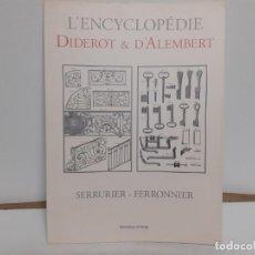 Antigüedades: LIBRO DE FORJA TECNICAS. Lote 191956991