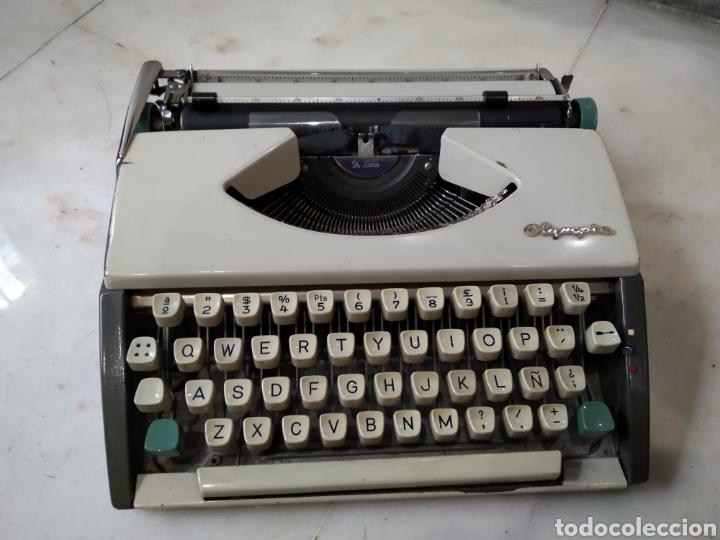Antigüedades: Maquina de escribir olympia - Foto 2 - 192020092