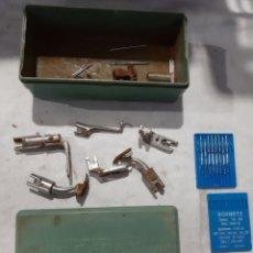 Antigüedades: PIEZAS MÁQUINA COSER REFREY. Lote 192037435