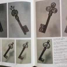 Antigüedades: LIBRO DE LLAVES EN FRANCÉS 30X25CM 199 PÁGINAS.. Lote 192065703