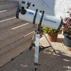 Antigüedades: TELESCOPIO REFLECTOR EVENT HORIZON - F = 750 - ESPEJO 150MM - 6 PULGADAS. Lote 192101546