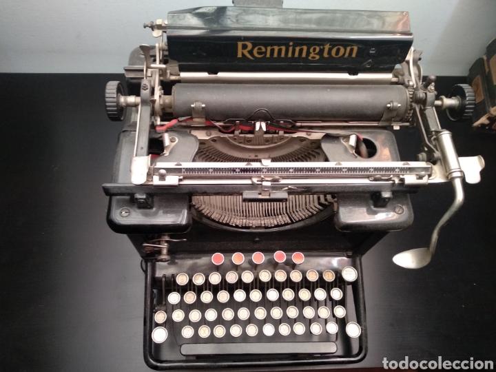Antigüedades: Antigua máquina de escribir Remington 1930 - Foto 2 - 192132628