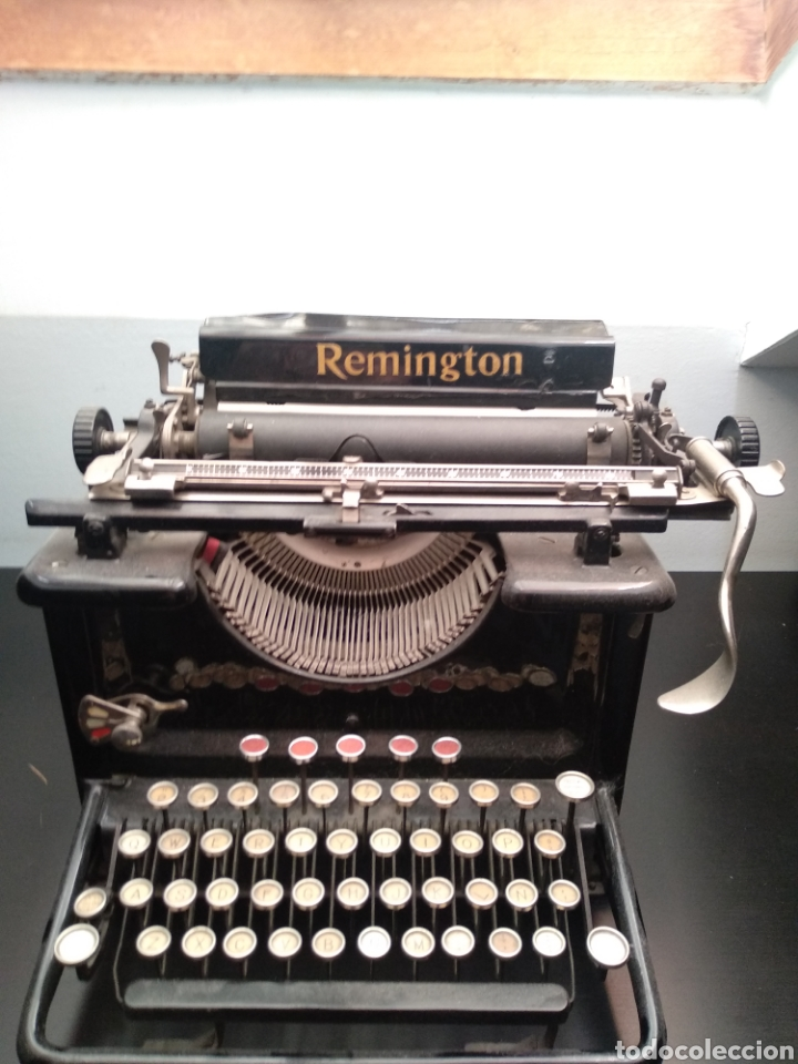 ANTIGUA MÁQUINA DE ESCRIBIR REMINGTON 1930 (Antigüedades - Técnicas - Máquinas de Escribir Antiguas - Remington)