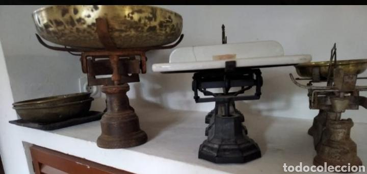 BÁSCULAS (Antigüedades - Técnicas - Medidas de Peso - Básculas Antiguas)