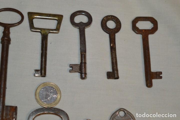 Antigüedades: Lote 01 -- Compuesto por 18 llaves variadas antiguas - ¡Mirar fotos y detalles! - Foto 4 - 192168578