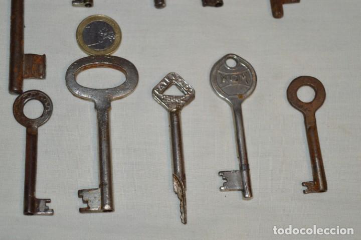Antigüedades: Lote 01 -- Compuesto por 18 llaves variadas antiguas - ¡Mirar fotos y detalles! - Foto 6 - 192168578