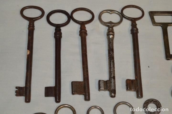 Antigüedades: Lote 01 -- Compuesto por 18 llaves variadas antiguas - ¡Mirar fotos y detalles! - Foto 7 - 192168578