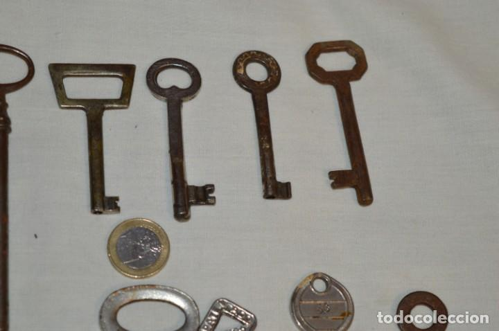 Antigüedades: Lote 01 -- Compuesto por 18 llaves variadas antiguas - ¡Mirar fotos y detalles! - Foto 8 - 192168578