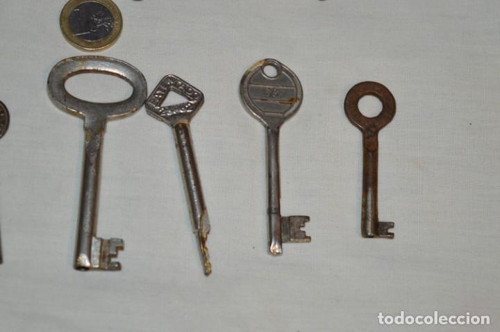 Antigüedades: Lote 01 -- Compuesto por 18 llaves variadas antiguas - ¡Mirar fotos y detalles! - Foto 10 - 192168578