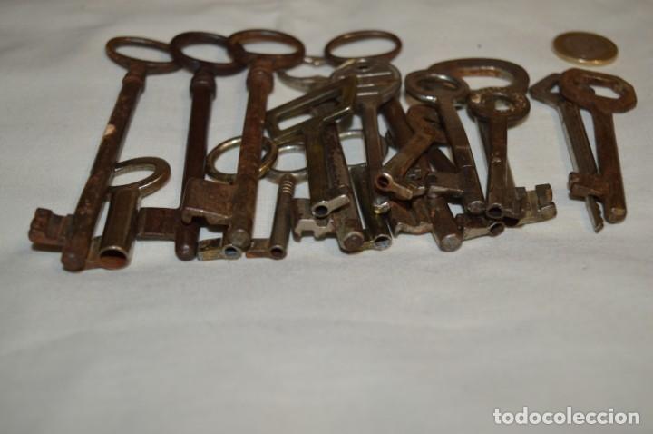 Antigüedades: Lote 01 -- Compuesto por 18 llaves variadas antiguas - ¡Mirar fotos y detalles! - Foto 11 - 192168578