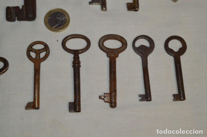 Antigüedades: Lote 02 -- Compuesto por 18 llaves variadas antiguas - ¡Mirar fotos y detalles! - Foto 6 - 192170540