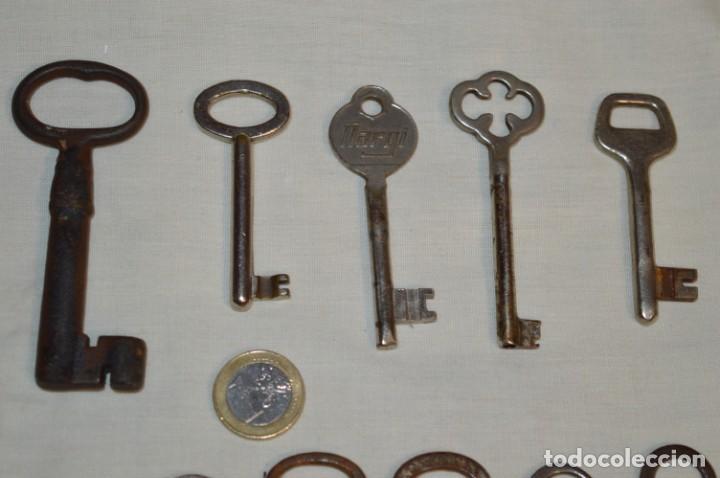Antigüedades: Lote 02 -- Compuesto por 18 llaves variadas antiguas - ¡Mirar fotos y detalles! - Foto 8 - 192170540
