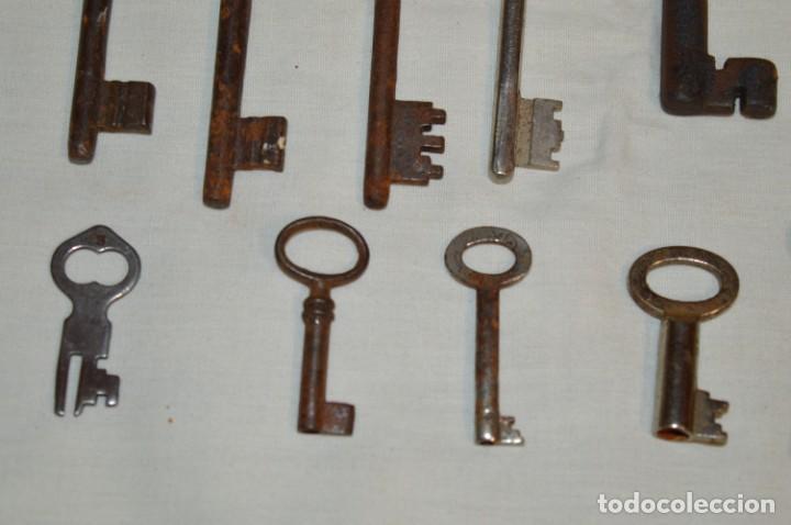 Antigüedades: Lote 02 -- Compuesto por 18 llaves variadas antiguas - ¡Mirar fotos y detalles! - Foto 9 - 192170540