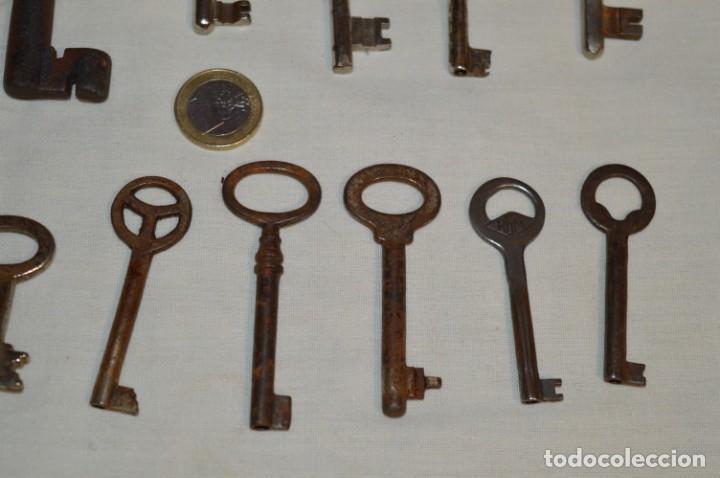Antigüedades: Lote 02 -- Compuesto por 18 llaves variadas antiguas - ¡Mirar fotos y detalles! - Foto 10 - 192170540
