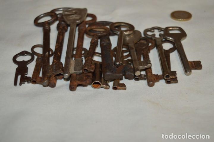 Antigüedades: Lote 02 -- Compuesto por 18 llaves variadas antiguas - ¡Mirar fotos y detalles! - Foto 11 - 192170540