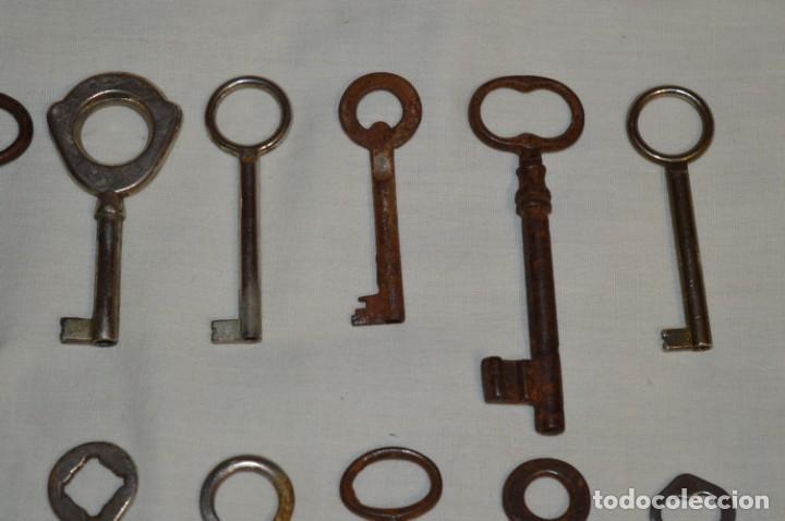 Antigüedades: Lote 03 -- Compuesto por 18 llaves variadas antiguas - ¡Mirar fotos y detalles! - Foto 4 - 192171897