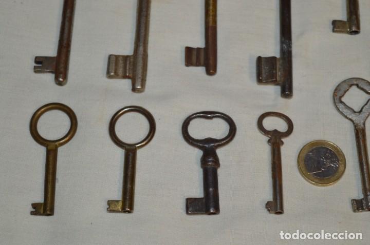 Antigüedades: Lote 03 -- Compuesto por 18 llaves variadas antiguas - ¡Mirar fotos y detalles! - Foto 5 - 192171897