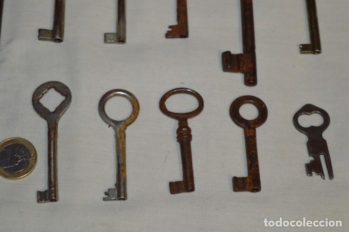 Antigüedades: Lote 03 -- Compuesto por 18 llaves variadas antiguas - ¡Mirar fotos y detalles! - Foto 6 - 192171897